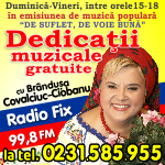Dedicatii RadioFix Live