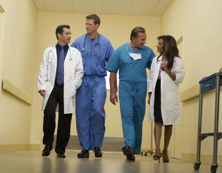 Spital părăsit de medici