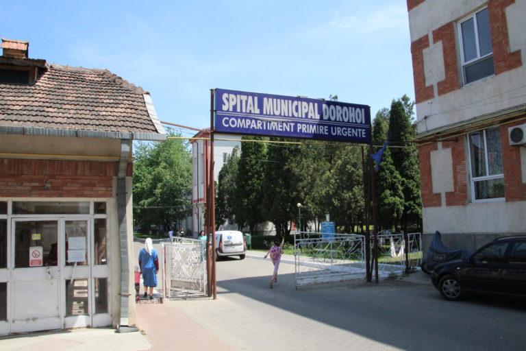 Conducerea Spitalului Dorohoi ameninţată de Covid