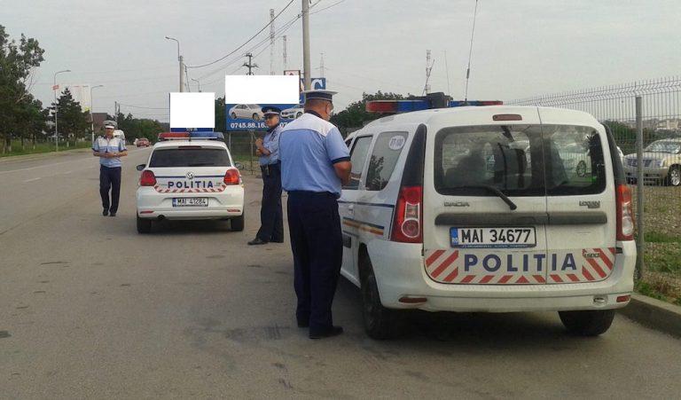 Sute de amenzi şi permise reţinute, după o acţiune de amploare a poliţiştilor