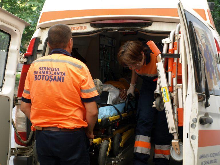 Ajuns la Urgențe la câteva minute după ce a fost externat din spital