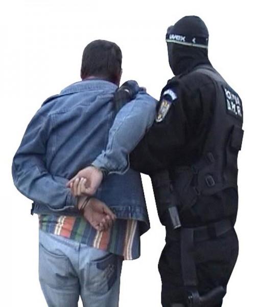 Bărbat suspectat de furt arestat pentru încălcarea repetată a ordinului de protecție