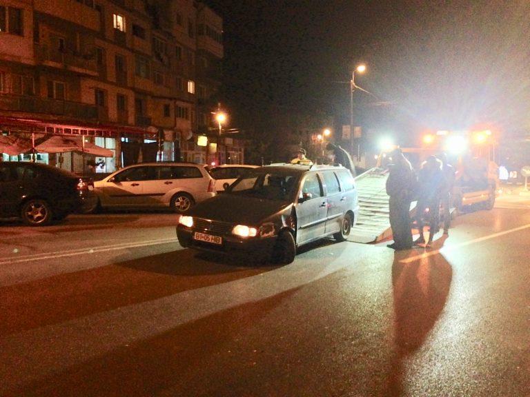Accident produs de un şofer beat criţă