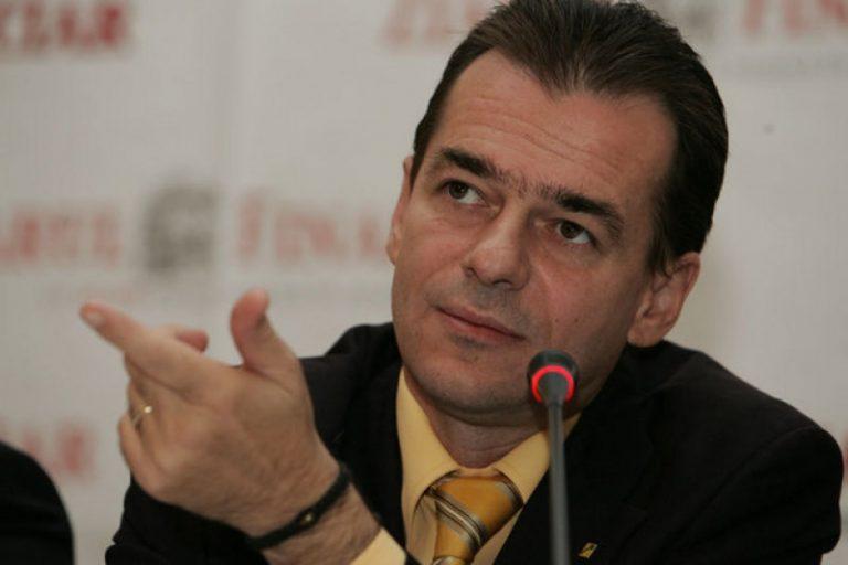 Ludovic Orban, propunerea PNL pentru postul de premier
