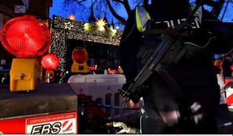Târg de Crăciun evacuat din cauza unui dispozitiv exploziv