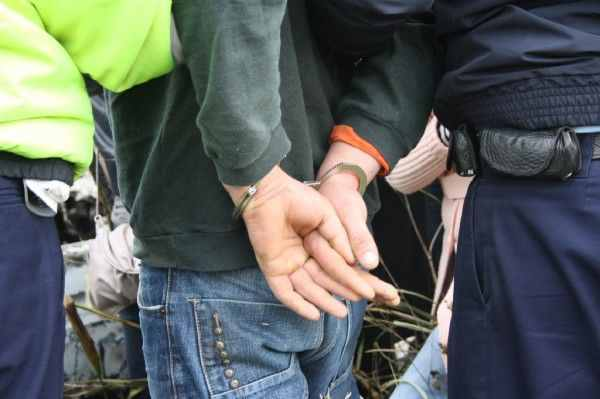 Hoț capturat de polițiști