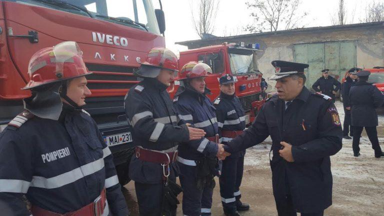 ISU Botoșani recrutează voluntari care să li se alăture pompierilor în misiuni