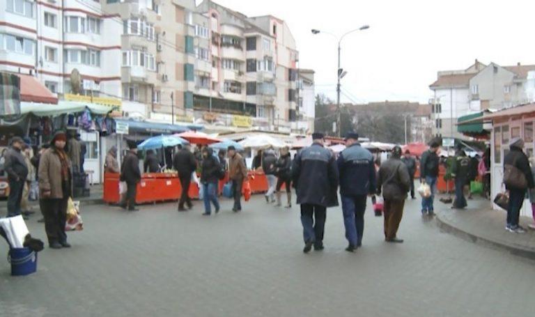 Plasator de ţigări prins în flagrant, în piaţă