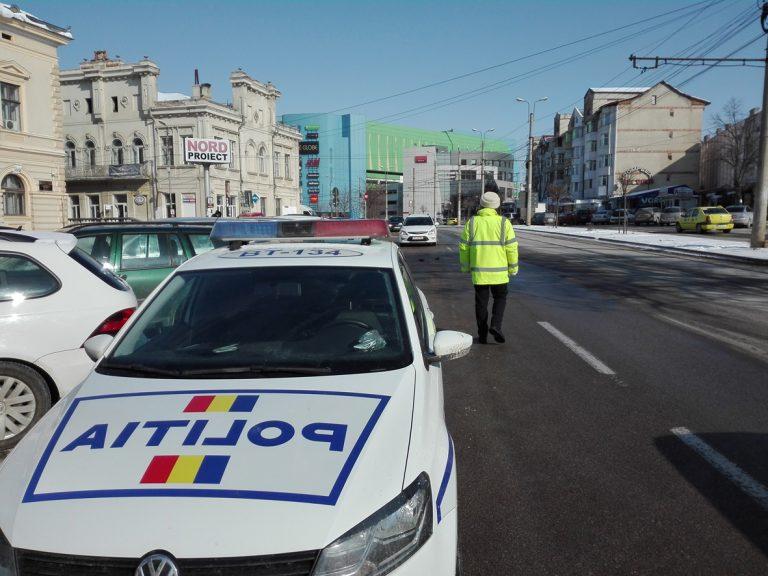 Plimbare cu o mașină furată terminată în arestul poliției