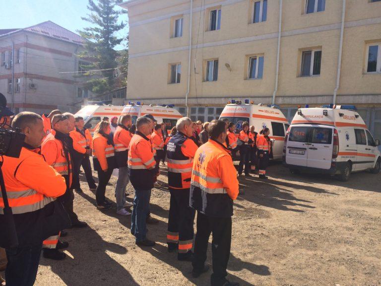 Concurs cu zeci de candidaţi la Ambulanţă