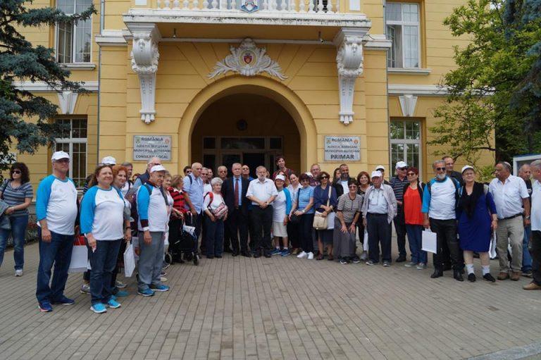 Participanţii la Marşul vieţii au ajuns la Botoşani
