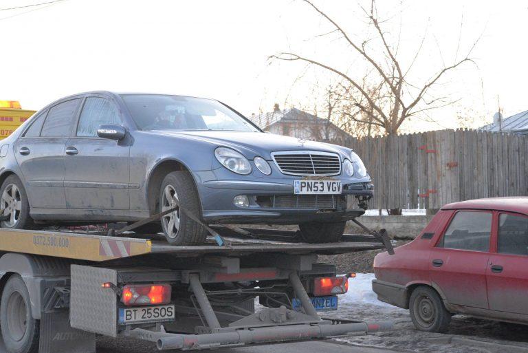 Atac intenţionat cu maşina asupra poliţiei condamnat cu suspendare