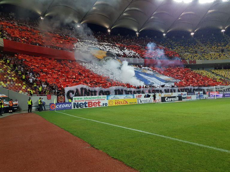 """""""Câinii"""" câștigă din nou duelul din tribune la derby! (video)"""