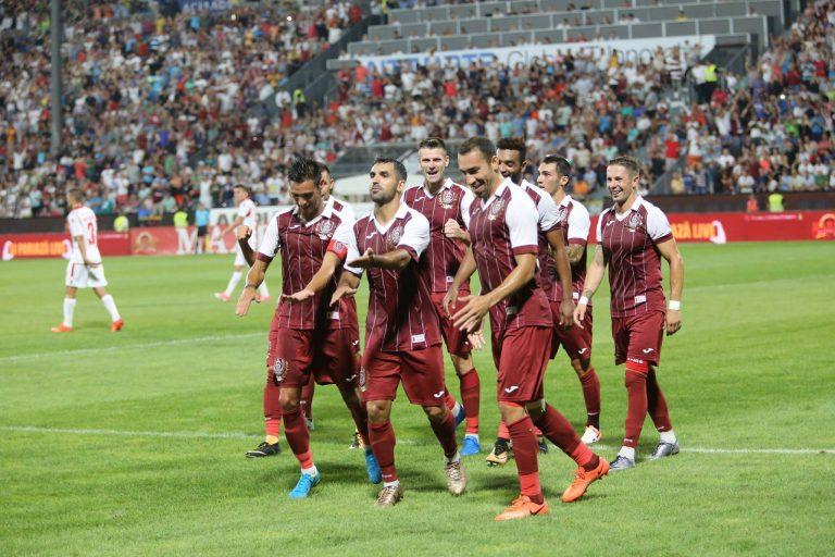 CFR Cluj trece peste FCSB în Liga I