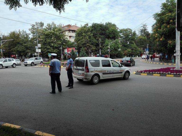 Şofer penal scos din trafic de poliţişti