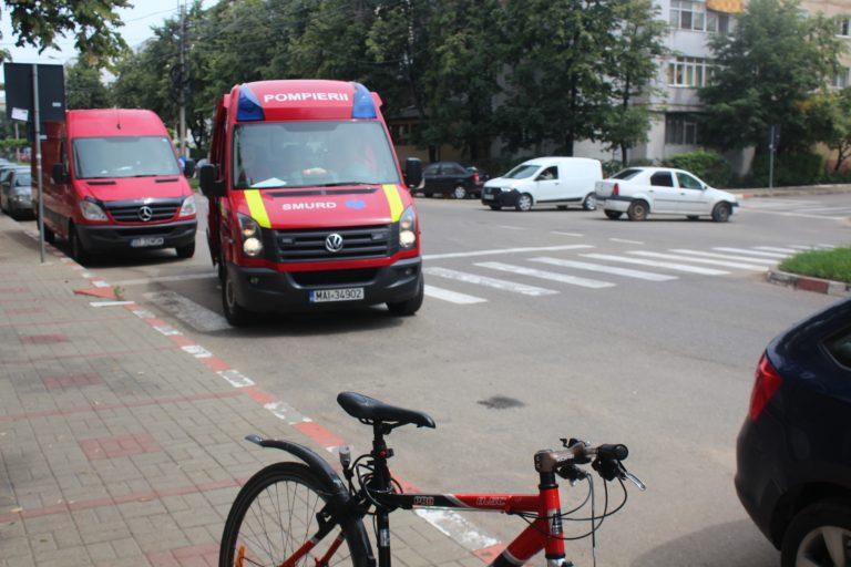 Biciclişti luaţi la ţintă pe şosele