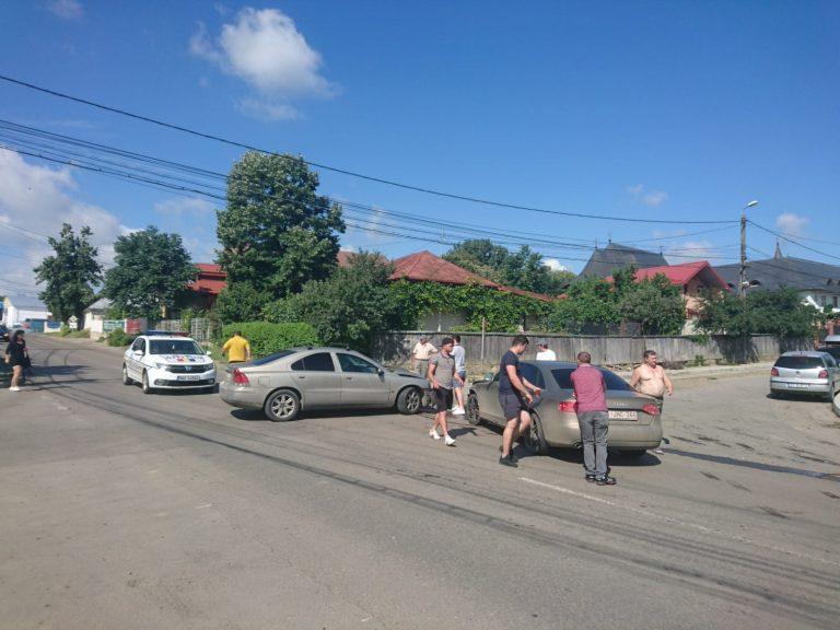 Tamponare între stranieri la Botoşani