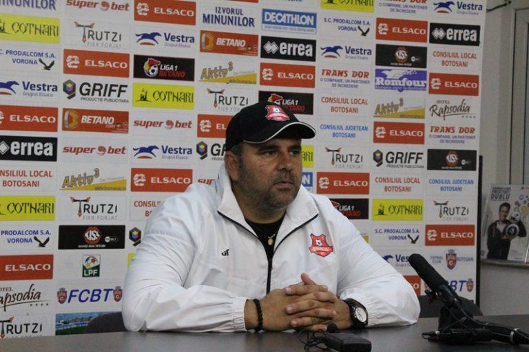 """Alexandru Pelici: """"Felicit Botoșaniul dar și pe Căbuz că a limitat proporțiile scorului!"""""""