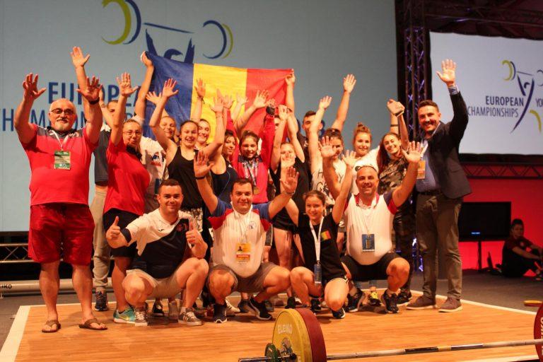 Nouă medalii europene pentru halterofilii CS Botoșani