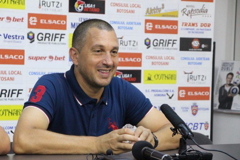 """Costel Enache: """"Felicit jucătorii pentru prestație!"""""""
