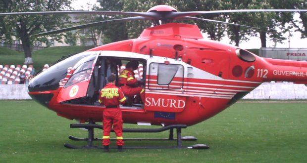 Elicopterul SMURD chemat la Dorohoi
