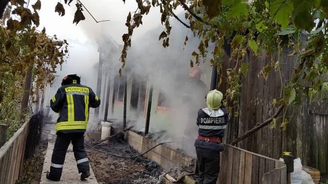 Săptămână de foc pentru pompierii botoșăneni