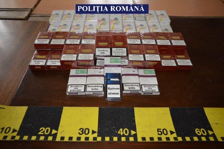 Ţigări de contrabandă furate din depozitul Vămii Slatina