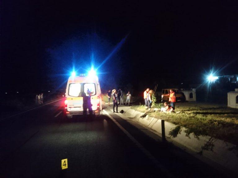 Tineri ajunşi la spital după un accident la beţie