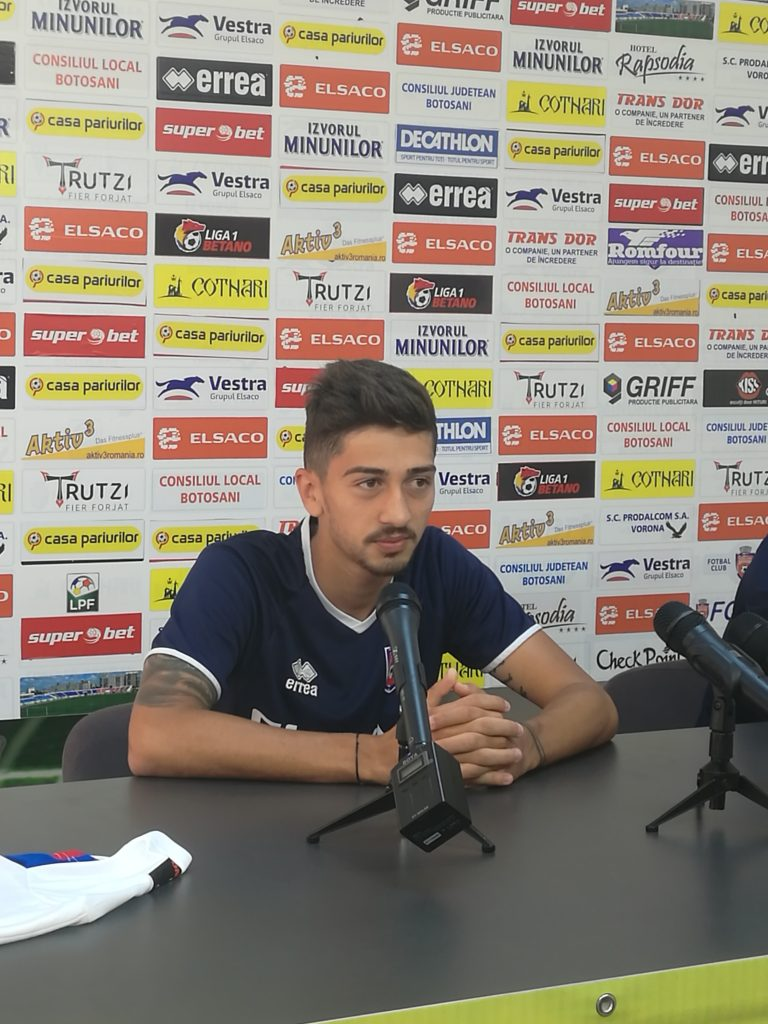 Eduard Florescu a semnat pe trei ani cu FC Botoșani! (video)