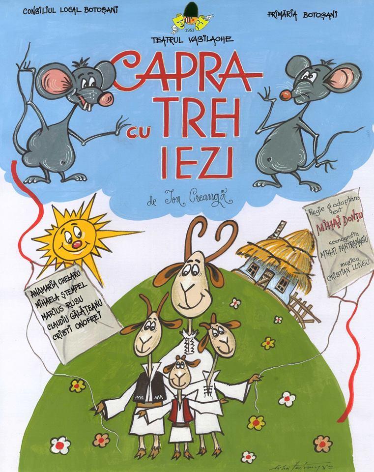 """Teatrul """"Vasilache"""" demarează proiectul umanitar """"Teatrul ne face bine"""""""