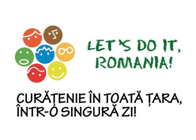 Mobilizare exemplară în campania Let's Do It, Romania!