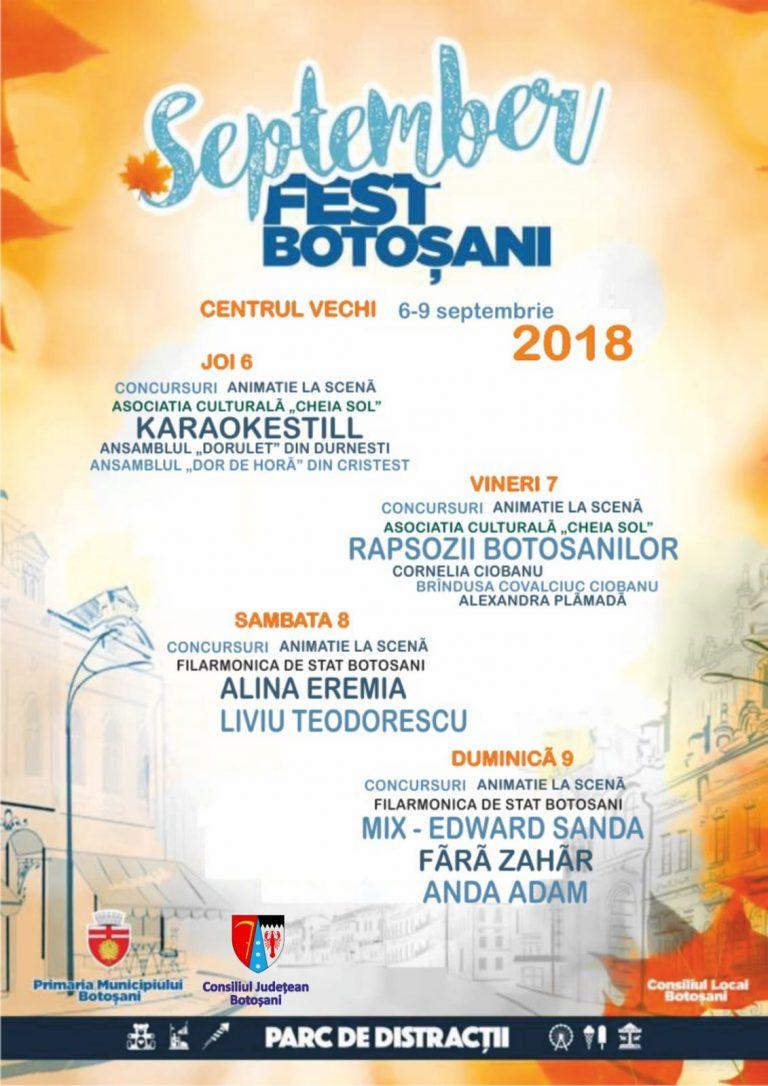 A fost finalizat programul September Fest