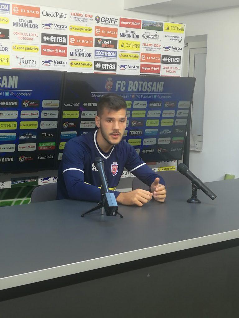 Un fotbalist de la FC Botosani convocat de Mirel Rădoi la naționala U21!