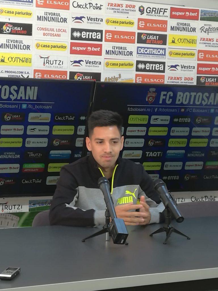 Cazul lui Rodriguez nu afectează programul FC Botoșani » Meciul cu FCSB se joacă sâmbătă!