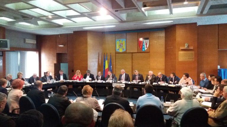 Deszăpezirea, discutată în Consiliul Județean (Foto/Video)