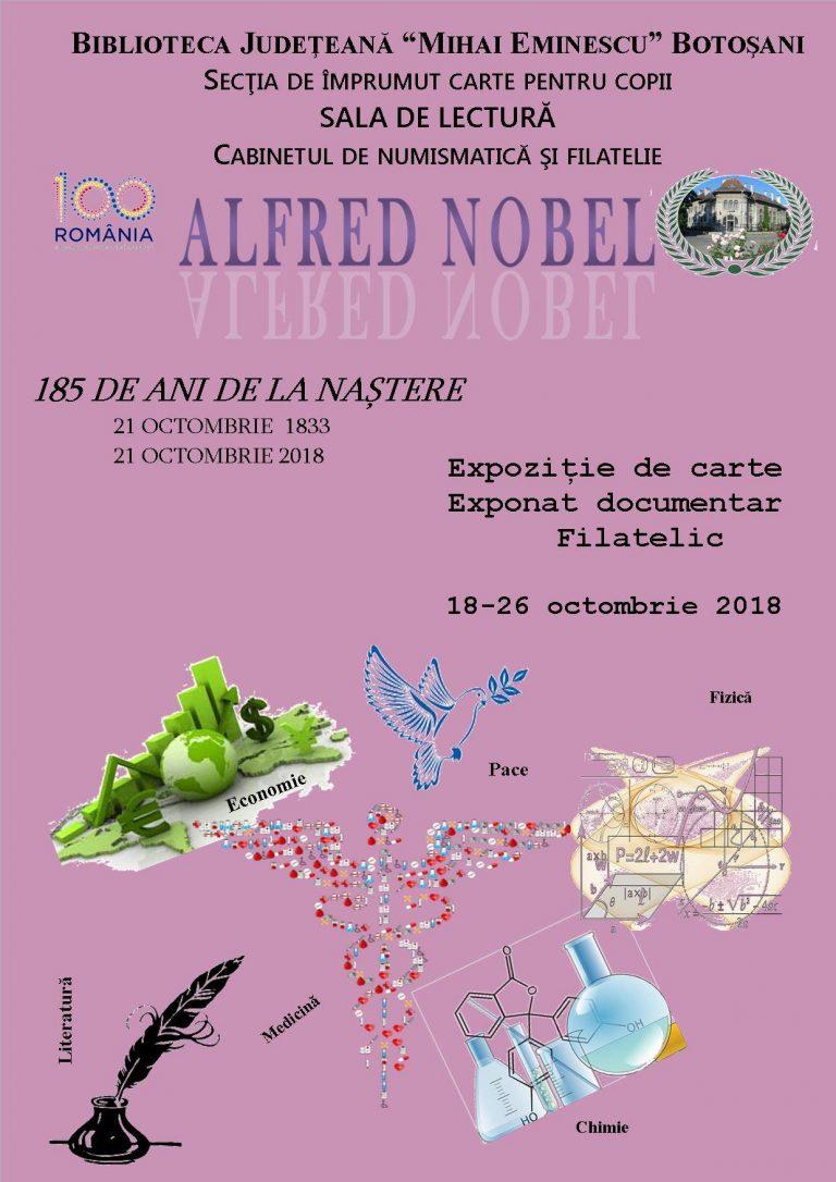 Vernisaj în memoria lui Alfred Nobel