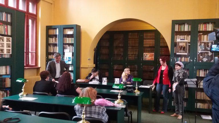 Lansare de carte la Biblioteca Județeană (Foto/Video)