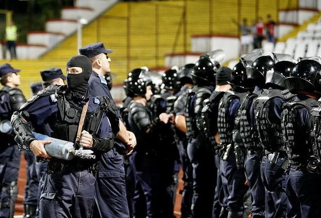 Jandarmii de la Bacău vin din nou pe Municipal