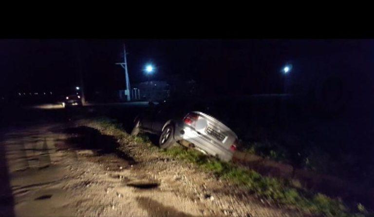 Șofer lăsat fără permis în urma unui accident produs la beție