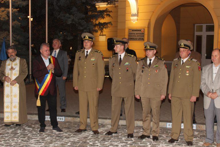 Ştafeta Veteranilor a ajuns la Botoşani
