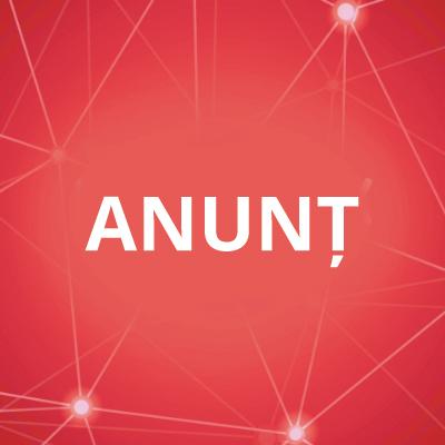 ANUNT CONCURS PENTRU POST CONTRACTUAL