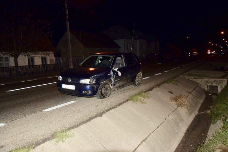 Botoșănean implicat în accident în Bistrița
