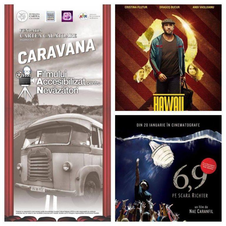 Caravana filmului pentru nevăzători ajunge la Botoşani