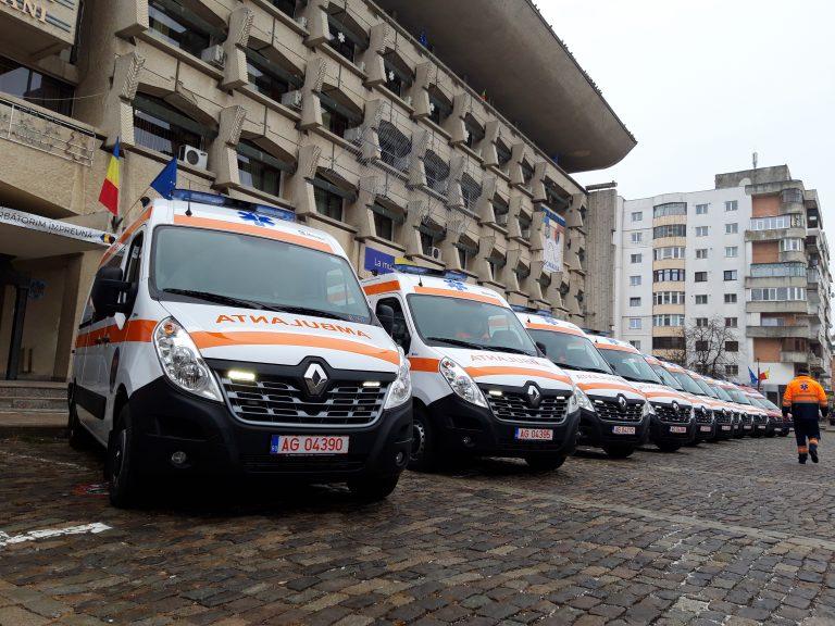 PSD organizează festival cu 12 ambulanțe