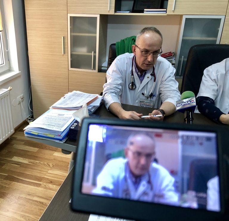 Nou compartiment chirurgical la Judeţean (video)