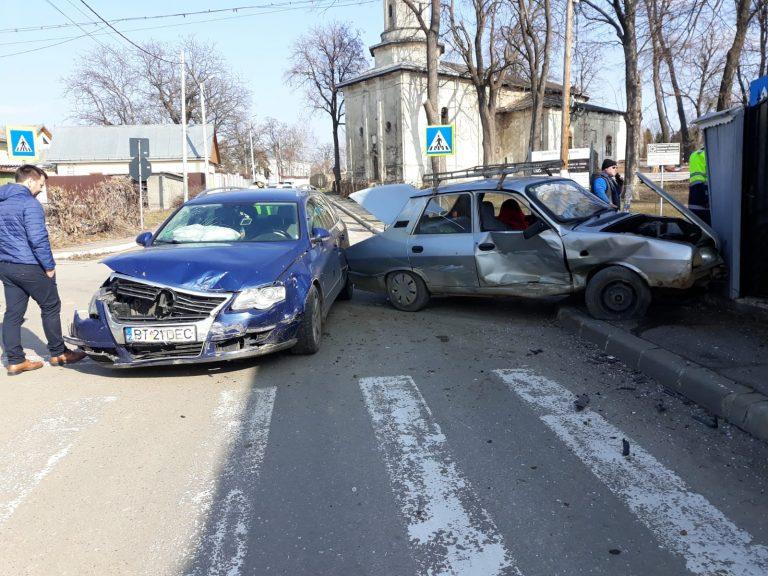 Accidente la minut pe străzile din oraş
