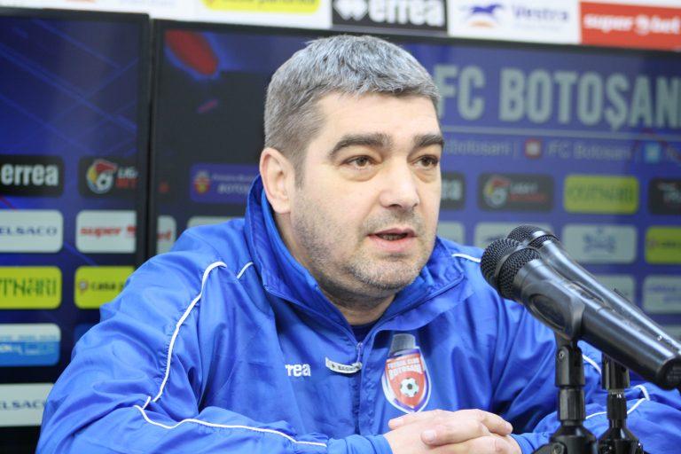 """""""Ciobi"""" ironic cu arbitrul Dima după joc: """"Mi-a plăcut cum a arbitrat pentru gazde!"""""""