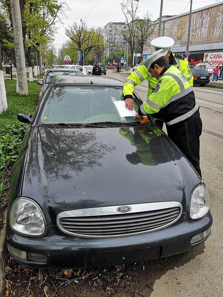 Edilii continuă activitatea de ridicare a maşinilor abandonate pe domeniul public
