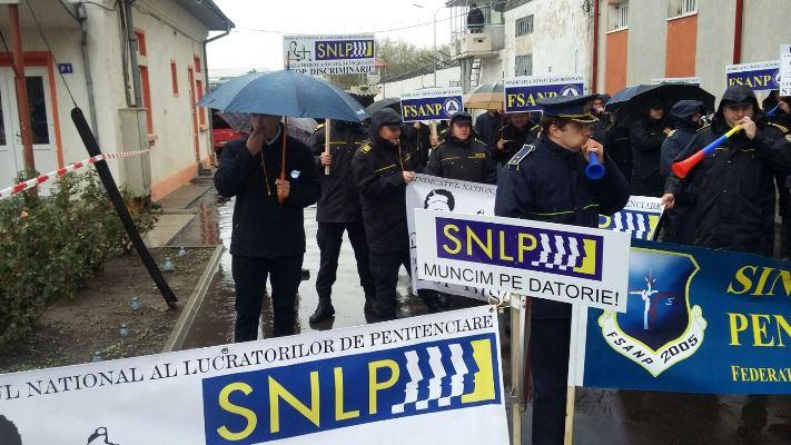 Sindicaliştii din Penitenciarul Botoşani ameninţă cu blocarea activităţii