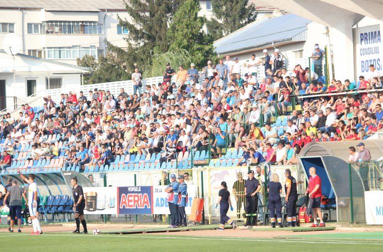 FC Botoşani schimbă regulile pentru spectatori